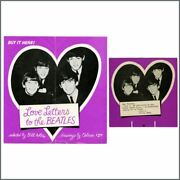 The Beatles 1964 Love Letters To The Beatles Promotional Shop Displays Usa
