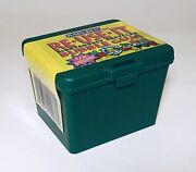 Vintage 1994 Rain-blo Leaf Re-use-it Recycle Bin Bubble Gum Container Army Green