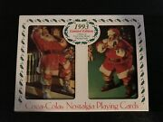 1993 Coca Cola Limited Edition Playing Cards - 3 Sets/ 6 Decks