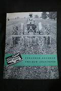 1940s Ferguson Sherman Two Row Cultivator Brochure Ford Tractor