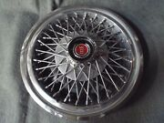 14 Wire Wheel Cover/hub Cap 1977 1979 1980 1981 Ford Mustang Fairmont Ranchero-c