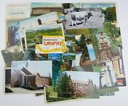 Lot Of 50+ Vintage Pennsylvania Postcards For Collecting Scrapbooking Art Pa