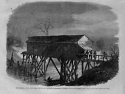 Prison Over Pearl River At Jackson Mississippi Where Union Prisoners Are Held