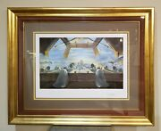 Salvador Dali The Sacrament Of The Last Supper Signed And Numbered Serigraph