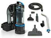 1hr Prolux 2.0 Cordless Bagless Backpack Vacuum With Lithium Ion Battery
