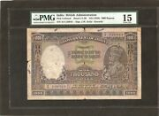 India 1000 Rupees P12 1928 Karachi Only Known To Exist Rare King George V Pmg15