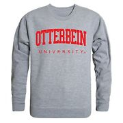 Otterbein University Cardinals Ou Ncaa Crewneck Sweater - Officially Licensed