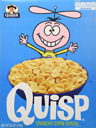 Quaker Quisp Cereal 8.5-ounce Boxes Pack Of 4