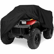 Deluxe All-weather Water Repellent Atv Cover - Universal Fits Up To 86 Length