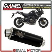 Catalyzed Full Exhaust Syst Giannelli Black Inox Yamaha Mt-09 Tracer 2015 2019