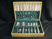 1847 Rogers Bros. Eternally Yours Silverplate Flatware - 52 Pcs. - Ca 1941