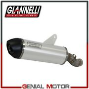 Catalyzed Full Exhaust System Giannelli Aluminum Bmw R 1200 Gs Adven 2017 17