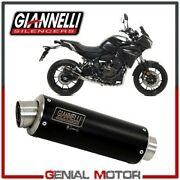 Cat Full Exhaust System Giannelli Black High Yamaha Rm15 Tracer 700 2017 17