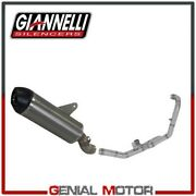 No Catalyzed Full Exhaust System Giannelli Titan For Ktm 1290 Sup Advent 2015 15