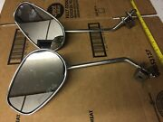 Motorcycle Mirrors - Jack Win L R - E4 00 0354 - Set Of Two - Used