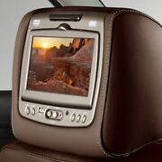 Genuine Gm Headrest And Video Screen Assembly 84263921