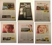 Vtg 1950and039s - 1960and039s Rent A Car Ads Advertising Hertz / Avis Etc. - You Choose
