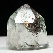 Small Polished Quartz Prisms With Scenic Inclusions Crystal Grid Msc1452