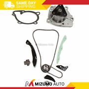 Timing Chain Kit Water Pump Fit 07-13 Dodge Jeep Chrysler Sebring 2.0 2.4 Dohc
