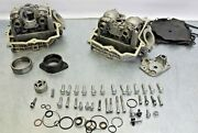 Used Oem Can-am Spyder Front And Rear Cylinder Head Assembly For Parts Or Repair