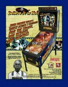Ripley's Believe It Or Not Stern Pinball Game Flyer Brochure Ad