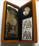 Canada 2005 Limited Edition Stamp And Coin Set The Great Grizzly.