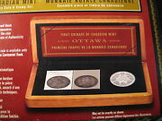 Canada 2008 Extremely Rare 100th Anniversary Coin And Stamp Set Mintage 16000.