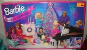 9917 Rare Nrfb Mattel Toys R Us Barbie Home For The Holidays Playset No Dolls