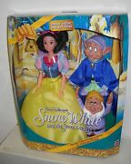 3661 Nrfb Mattel Disney Dance N Play Snow White, Dopey And Sneezy Deluxe Giftset