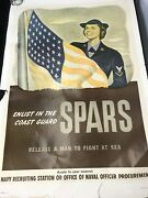 Wwii Us Coast Guard Spars Recruiting Poster