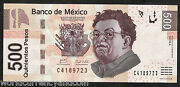 Mexico 500 Pesos P126 2010 Rivera Child In Arm Unc Latino Currency Bank Note