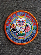 1996 Bsa Boy Scouts America Camp Robert E Lee Council Olympic Camporee Patch