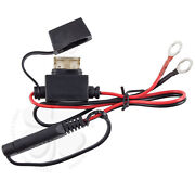 Battery Terminal Quick Connect Motorcycle Harness Charger Cable Adapter Plug