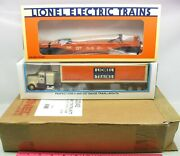 Lionel 6-52040 Wolverine Division Gtw Flatcar With Tractor And Trailer