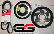 2016-2019 Cadillac Cts-v Lt4 Crank Balancer And Lower Supercharger Pulley Kit