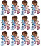 Cake Toppers Doc Mcstuffins Cupcake Toppers Edible Image Frosting Circles 12