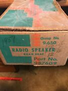 New Old Stock 57 Chevy Rear Seat Speaker
