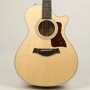 Taylor 412ce Grand Concert Acoustic-electric Natural