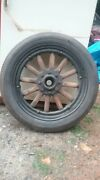 Qty-4 A Model Wheels/tires 2 Rear With Brake Drumsandnbsp