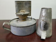 Rare Oil Lamp Heater Used For Incubation Circa 1903. Farm And Agriculture.