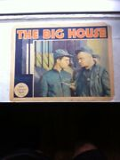 The Big House 1930 Original Lobby Card Chester Morris And Wallace Beery- Pre-code