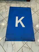 42x 29 Nyc Ny Subway Roll Sign K Train Bmt Ind World Trade Center Central Park