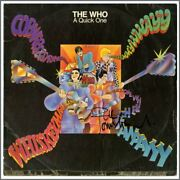 The Who 1966 Autographed A Quick One Lp Uk