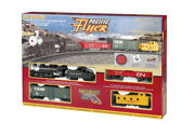 Bachmann 00692 Ho-scale Pacific Flyer Steam Train Set Union Pacific-up