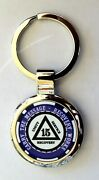Alcoholics Anonymous Sobriety Key Chain - 15 Year Blue