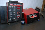 Set Lincoln Electric Double Header Dh-10 Controller And Mig Wire Feed Inv=28430