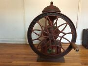 Antique Coffee Grinder Swift Mill 140 Cast Iron Lane Brothers Poughkeepsie Ny