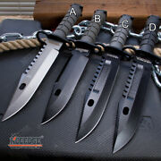 12.75 M9 Bayonet Camping Survival Combat Knife W/ Scabbard