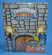 2012 Skylanders Giants Castle Display Case With Video Game Wham-shell Figure New