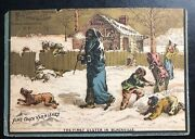 Mint Usa Advertising Card Fine Coach Varnishes Clarence Brooks